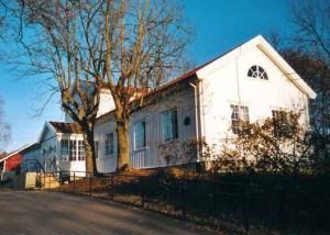 Våningshuset på Berg gård
