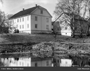 Nordberg gård 1928. Foto: A. B. Wilse / Oslo Museum / CC-BY-SA