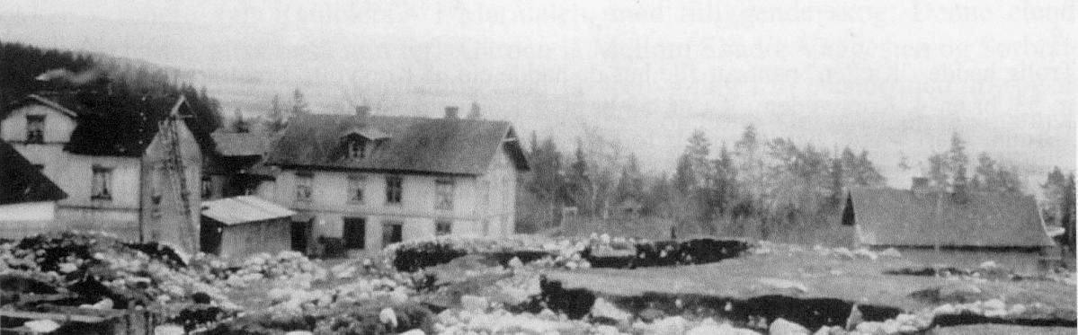 Borgen, Tyskemutters hus, takene av Bakeriet og Gulgården