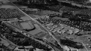 Flyfoto av leiren