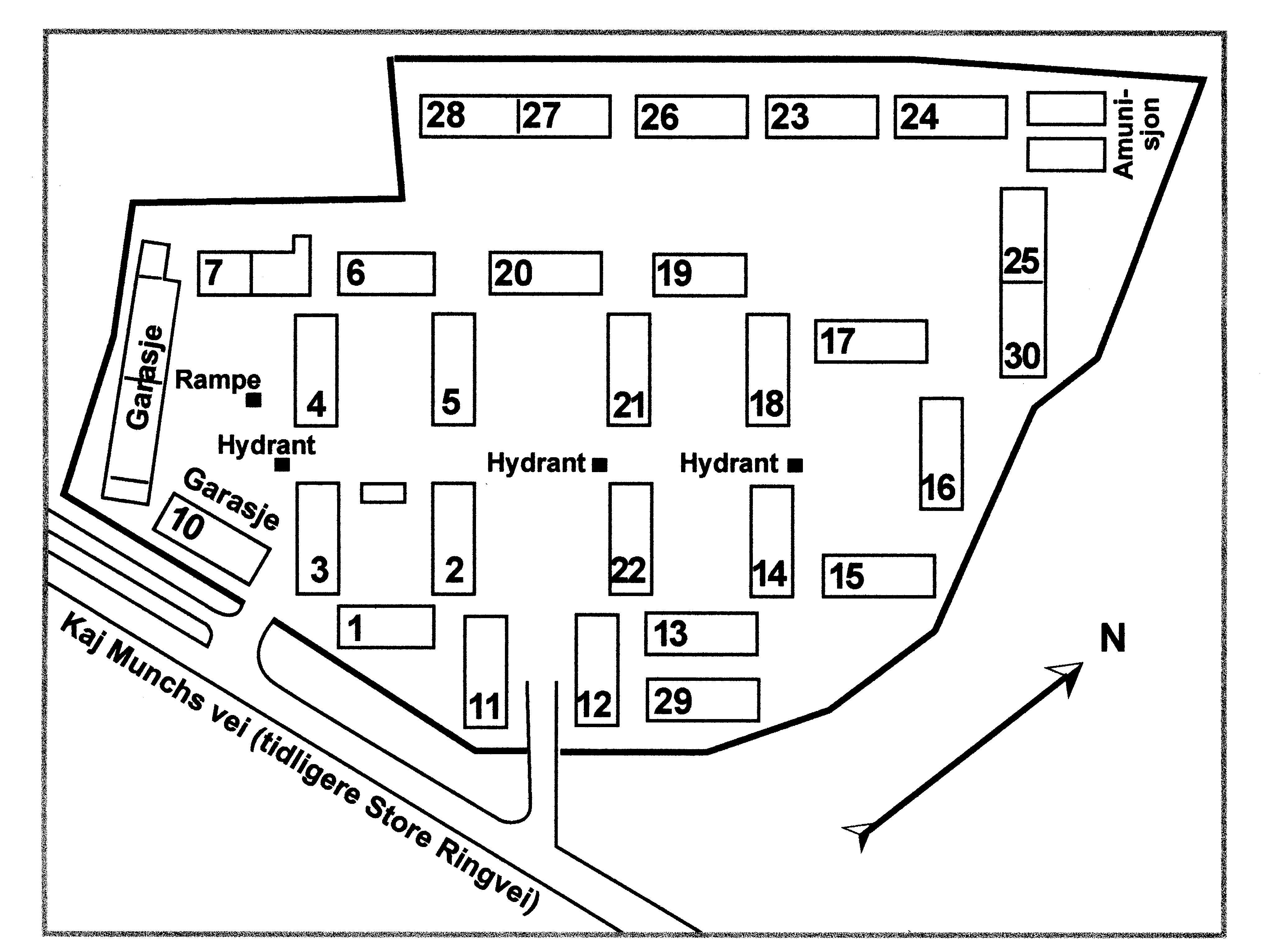 kart over ullevål sykehus Lager Ullevål : SS leiren på Ullevålsletta | Sogn kultur  og  kart over ullevål sykehus