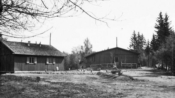 Tyskerbrakker ved Sognsvann