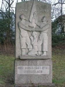Krigsminnesmerket på Tåsen