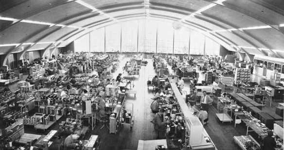 Fabrikkhallen på Brekke. Foto: Oslo Museum (CC-BY-SA)
