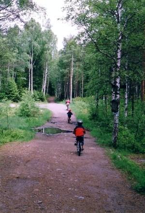 Ankerveien ved Nedre Blanksjø