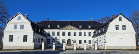 Hovedbygningen på Hafslund hovedgård.